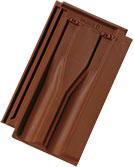 Tondach Tangó barna engóbozott tetőcserép